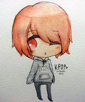 Little EXO Hoodie by c-louds