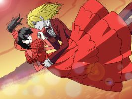 Ouran Host BJ and Lydia 2 by freetre
