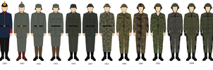 Field uniform German empire AT by PHAFFM