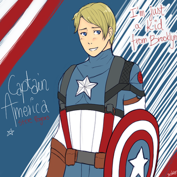 Captain America! by Jaskierka