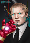 IRON MAN -Wake up Jarvis by vtophya