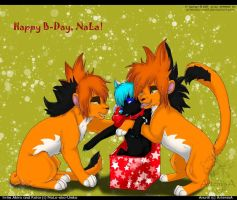 Happy B-Day, NaLa by ArtemisA-wolf