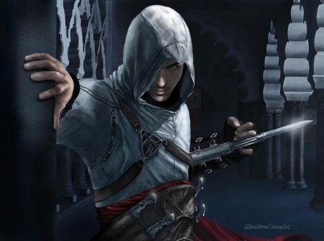 Altair -  Ibn-La'Ahad by GinebraCamelot
