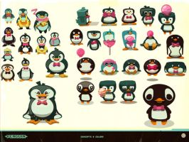 Penguins concepts by hision
