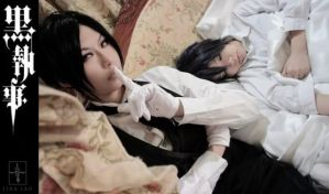 Cosplay Ciel and Sebastian02 by GothicaEmpress