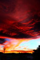 The sky is burning by cegax3m