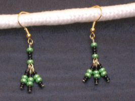 Witch Tridrop Earrings by LadyTal