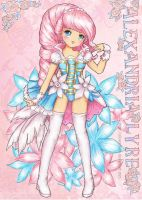 C: Flower Lady by SilverChaim