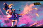 Jinx -League of Legends- by SouOrtiz
