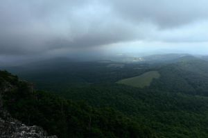 Storm on Buffalo Mountain by mixtapes-of-love