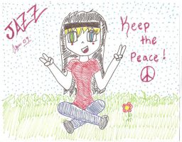 Keep the Peace by Melody-The-Raccoon