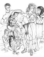 Mercutio's Family by iluvobiwan91