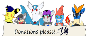 Donations banner by Zoruleaf