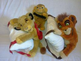 Lion King backpacks by Frieda15
