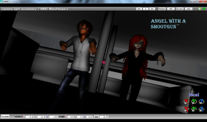 ((MMD Video))Norma Jeff/Alexa AngelWith A Shootgun by Knife-Girl