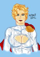 Power Girl (December 2012) by fmvra1s