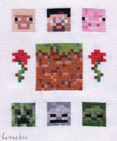 Minecraft Stitch by Hannakin