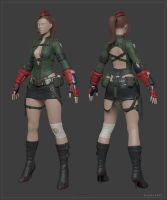Cammy_HighpolyModel by Bogdanbl4