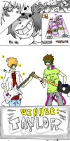 Guitar Hero by tailorthetaylor