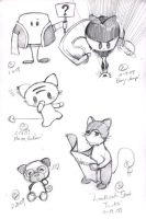 BeKyoot Sketch Dump 2 by lafhaha