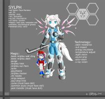 Sylph-Character sheet by Ryanide