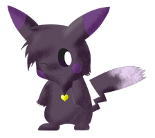 Shadow the pikachu by Pikacshu