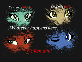 We Remain. by mistyfeather2832