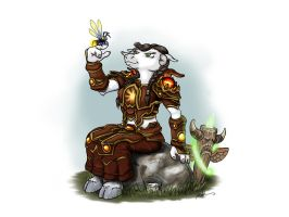 Female Tauren by mike-a