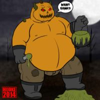 Calawak the Pumpkin Monster by DragonDoctor