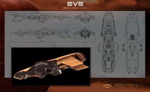 Empress Jamyl's Cruiser by Enterprise-E