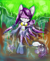 Neyla on holidays by Neyla-The-Lioness