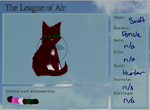 The City of Elements Application - Swift (air) by flickeringdreams