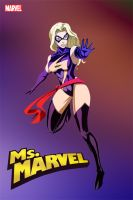 Ms Marvel by red-arkana