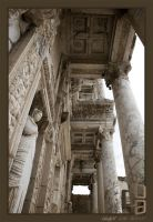 Library of Celsus by ozgurcanakbas