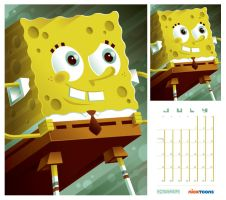 nicktoons: spongebob by strongstuff
