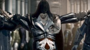 Ezio In Black by Invader-Shi