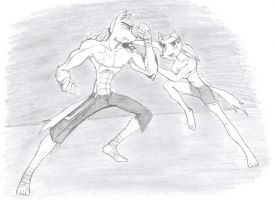 Sparring Session by GnarledContradiction