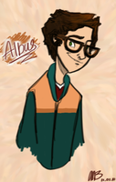 Albus Severus -- 5th year by naiubl