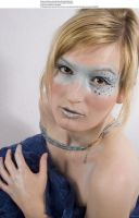 Blue mask 1 by almudena-stock