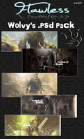 Wolvy's .PSD pack 1 by Wolvyqueen