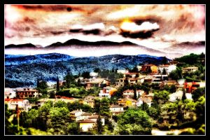 The Mountains Village by RiegersArtistry