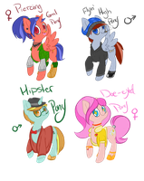 Pony Adopt Auction~ by vwv-vwv