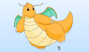 Dragonite by Gnight