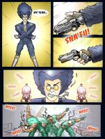 P2 fight 2 by gryphyn7