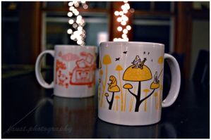 Happiness is a Coffee Mug Tew by soldierofsolace