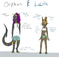Orphan And Lilith by LtPokeharo