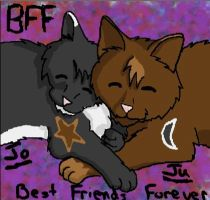 Friend and I as Kitties by Torture-kun