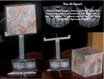 Transformers Movie Allspark by paperart