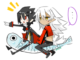 Sardine ride by teru-tan-chan