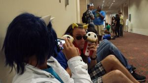 San Japan 6 - Because ponies need to have fun too by AuraMaster-Lucario